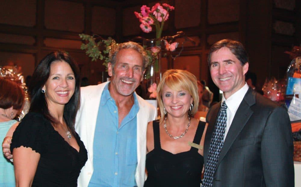 Lisa Betyar, Karl Walter, MaryAnne Carlin and friend.JPG