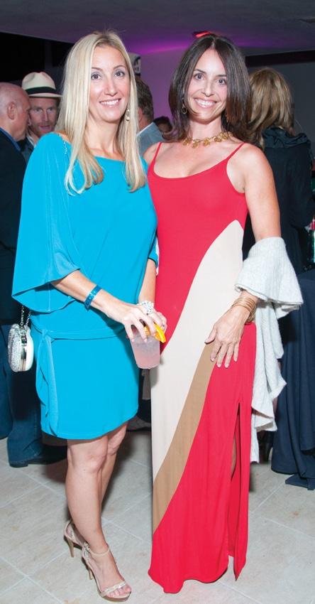 Lisa Colgate and Lauren Gross
