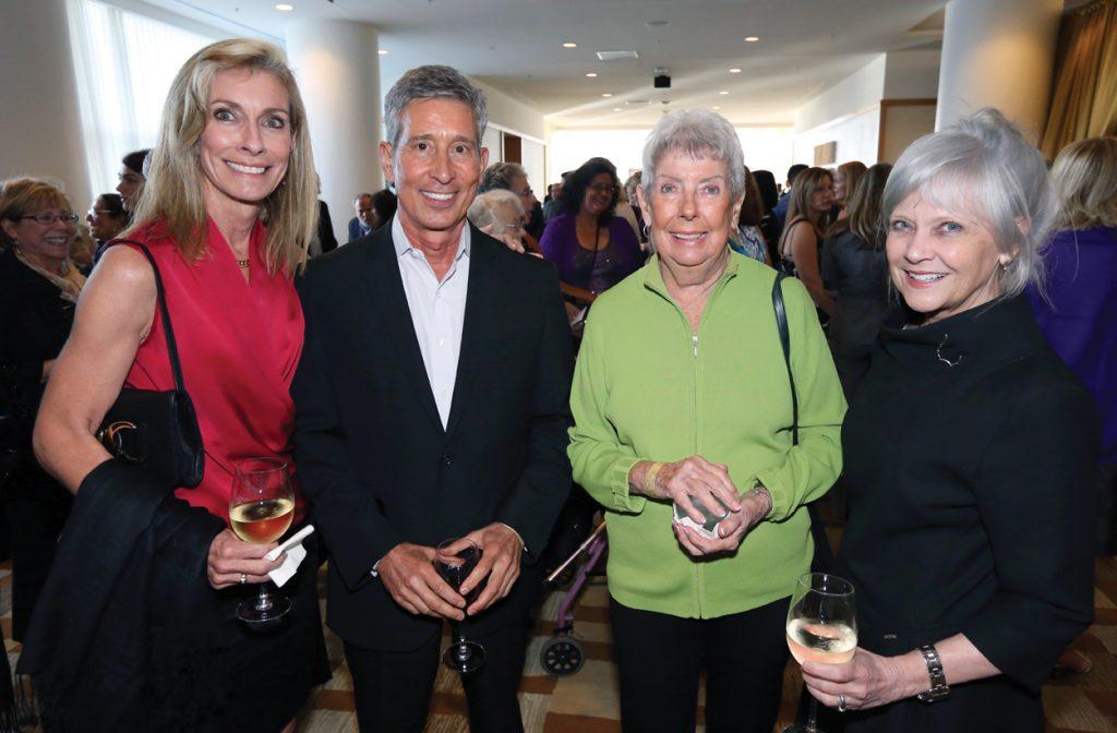 Lisa Walters, Greg Filandrinos, Elaine Walters and Renee Roth.JPG