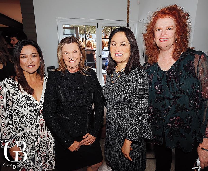 Lisa Alvanez  Nancy Pouk  Teresa Stivers and Kathryn Stephens