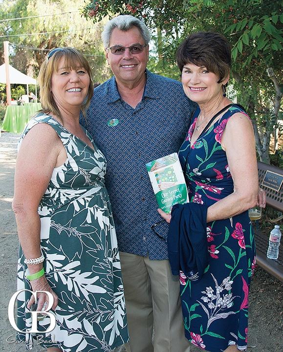 Lisa Anderson with Joe and Jonelle Garzanelli