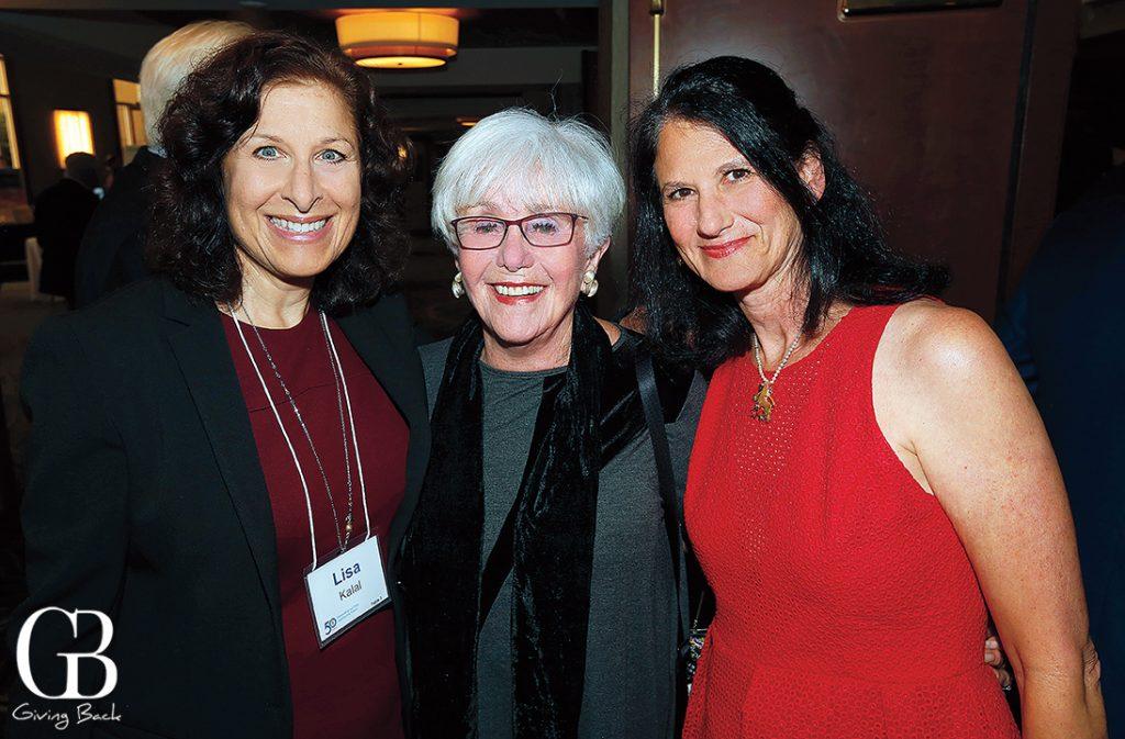 Lisa Kalal  Joyce Axelrod and Karen Kogut