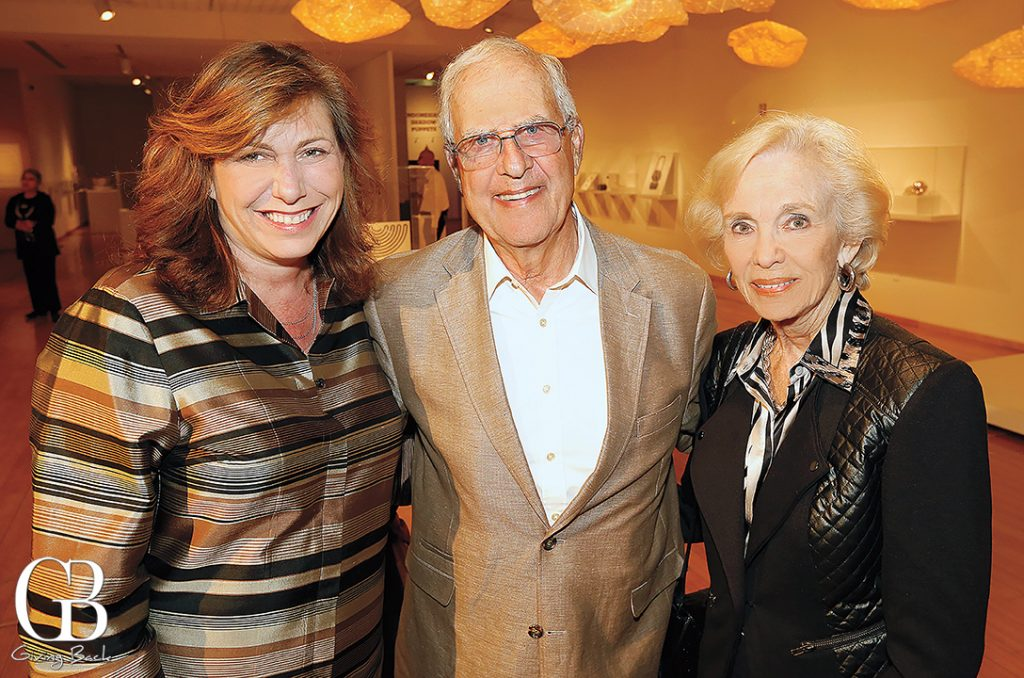 Lisa Kornfeld with Jerry and Sharon Stein