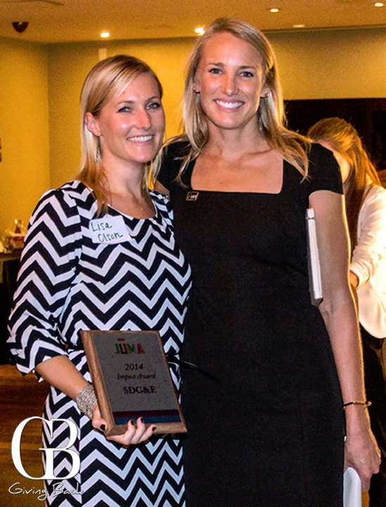 Lisa Olson and Brittany Russell