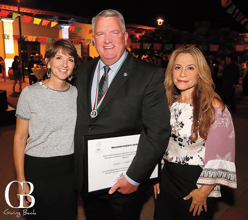 Lisa and Andy Carey with Susy Villegas