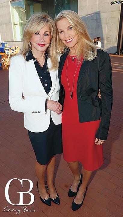 Lise Markham and Bernadette Bach