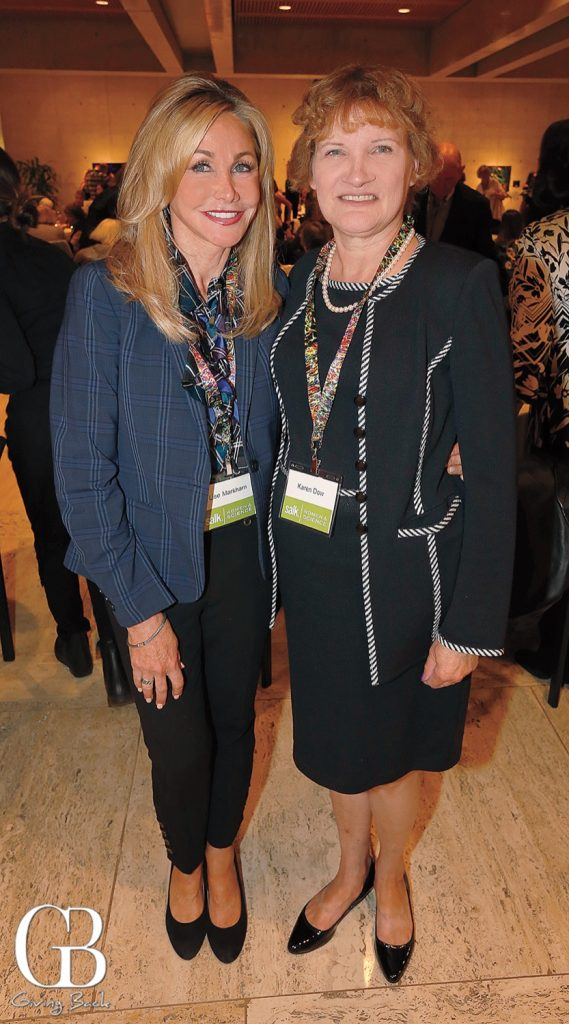 Lise Markham and Karen Dow