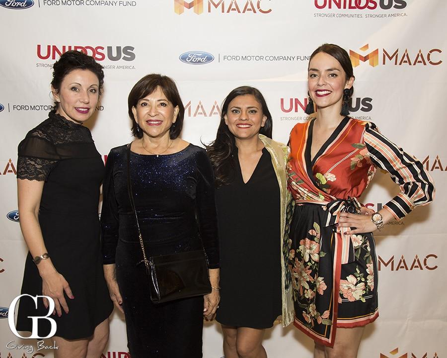 Lisette Islas  Mayor Mary Casillas Salas  Brenda Gonzalez Ricards and Elsa Roth