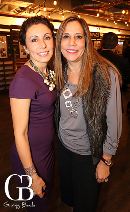 Lisette Islas and Carmen Gastellum