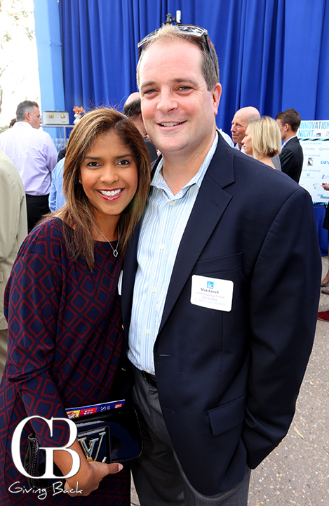 Lisette and Mick Farrell