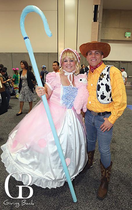 Little Bo Peep and Woody