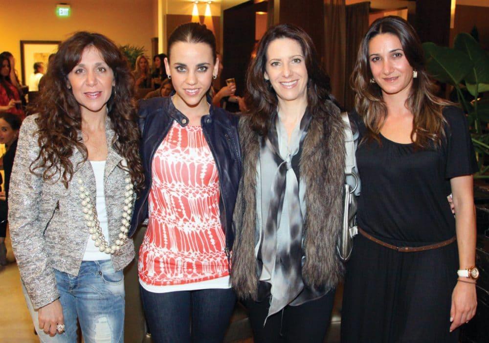 Liz Calderon, Stephanie Silverstein, Nora Silverstein and Grace Tawil.JPG