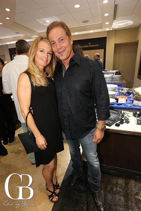 Liza Woelk and Tom Byars