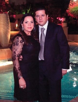 Lizette y Fernando Beltran