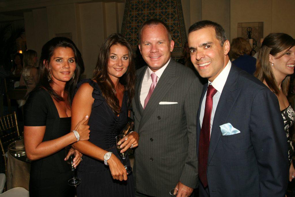 Lolly Amon, Gini Daniels, Michael Amon and Vahid Moradi.JPG