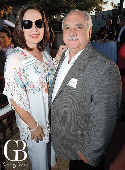 Lorena and Alejandro Bustamante