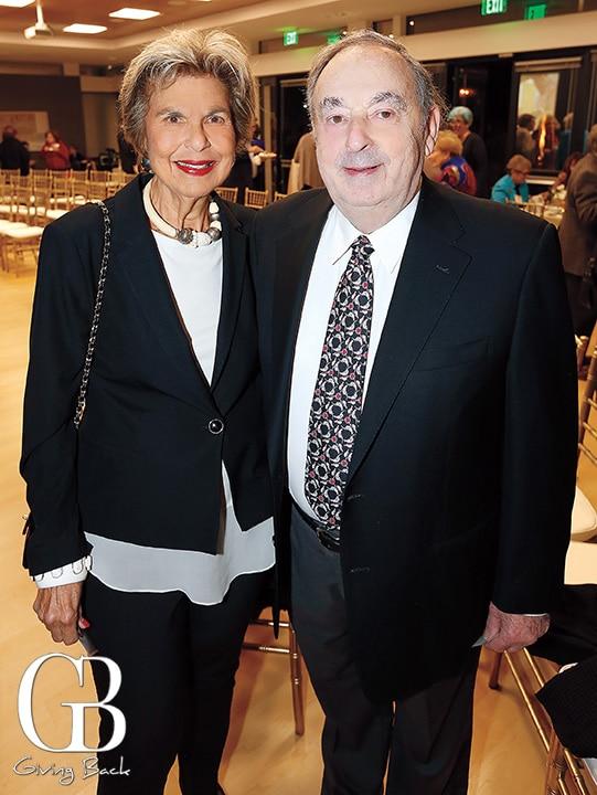 Loretta Adams and Bill Snyder