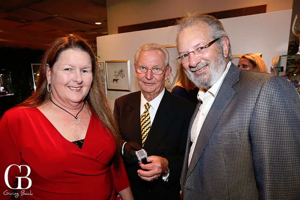 Lori Lachuk  Gerhardt Klein and Mike Lachuk with a Santos Triple Dial