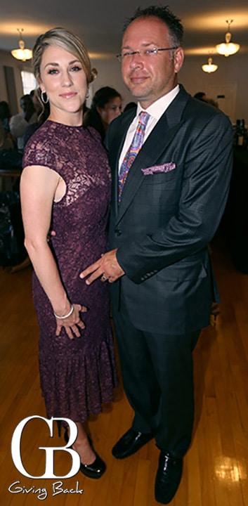 Lori and Justyn Amstutz