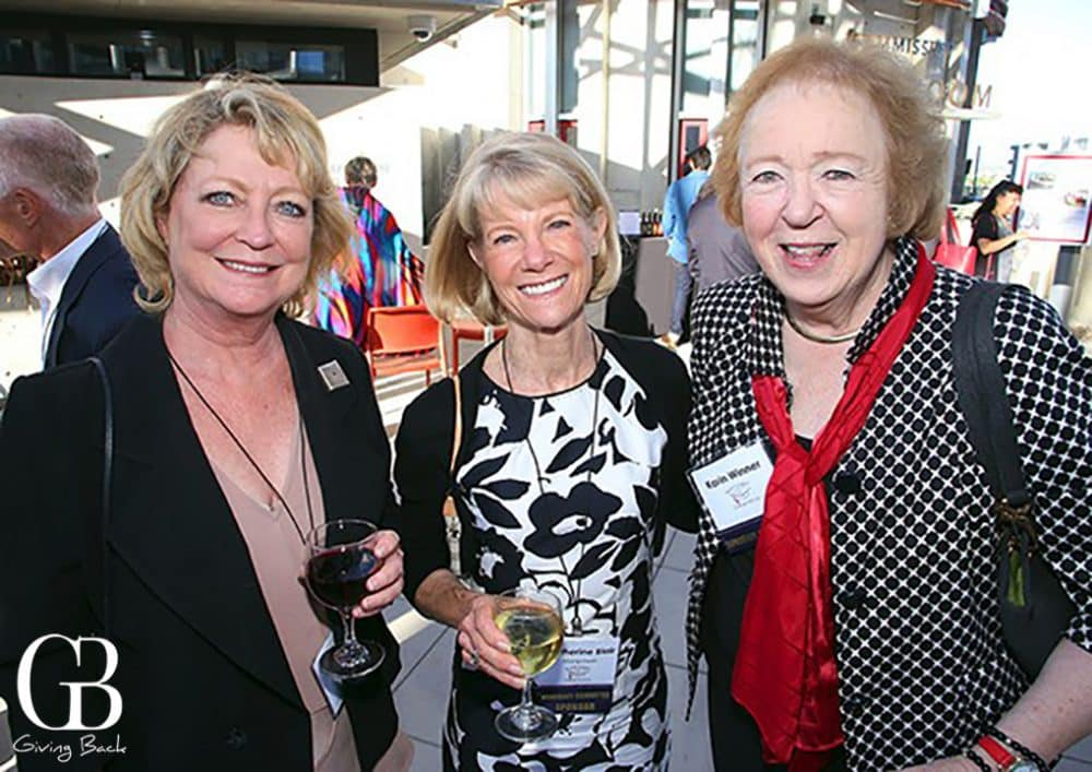 Lorie Hearn  Catherine Blair and Karin Winner