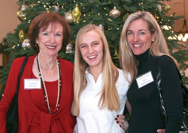 Lorraine Moriarty, Kelly McPherson and Erin McPherson
