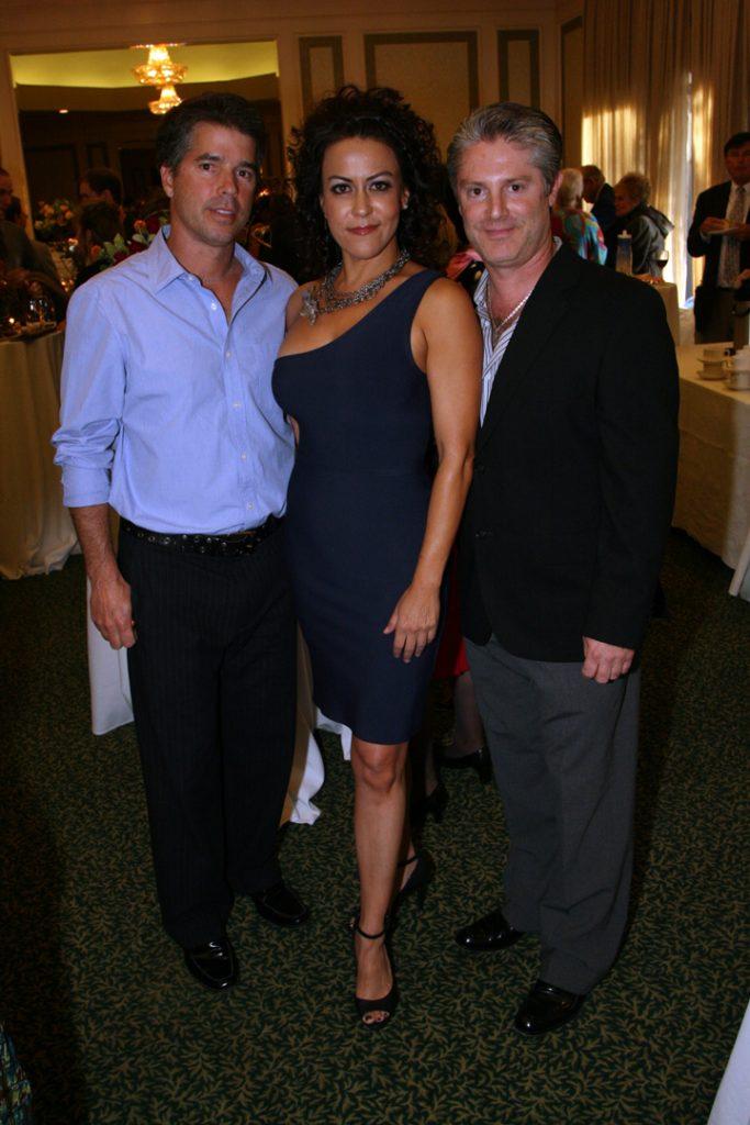 Los Romero   Seleno y Lito con Yolanda S. Walther Meade.JPG