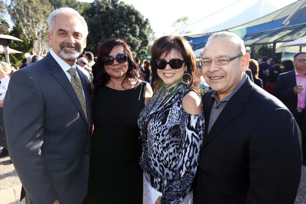 Lou Murillo, Cynthia Ledesma with Lidia S. and Ted Martinez.JPG
