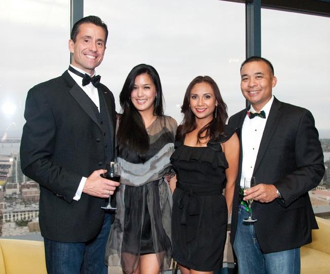 Louis Roden and Soledad Leano with Mylene and Robert  Deguzman