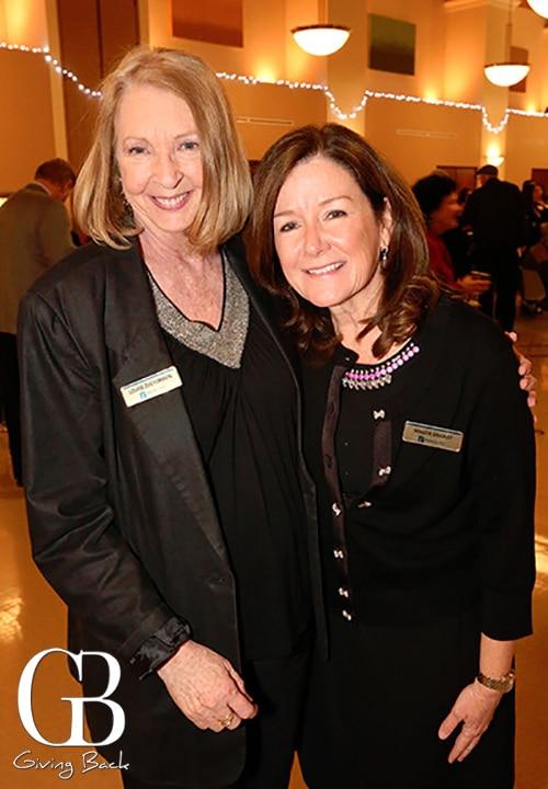 Louise Zuckerman and Maggie Bradley