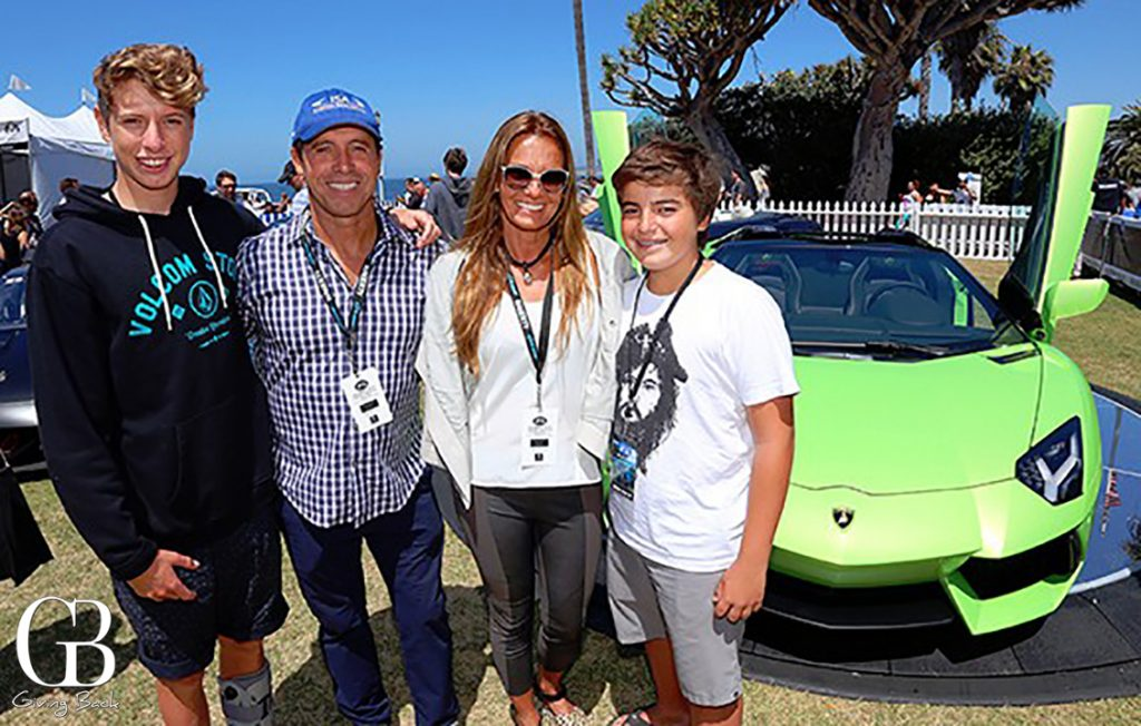 Lucas Santandrieu with Santiago  Cecilia and Luken Aguerre