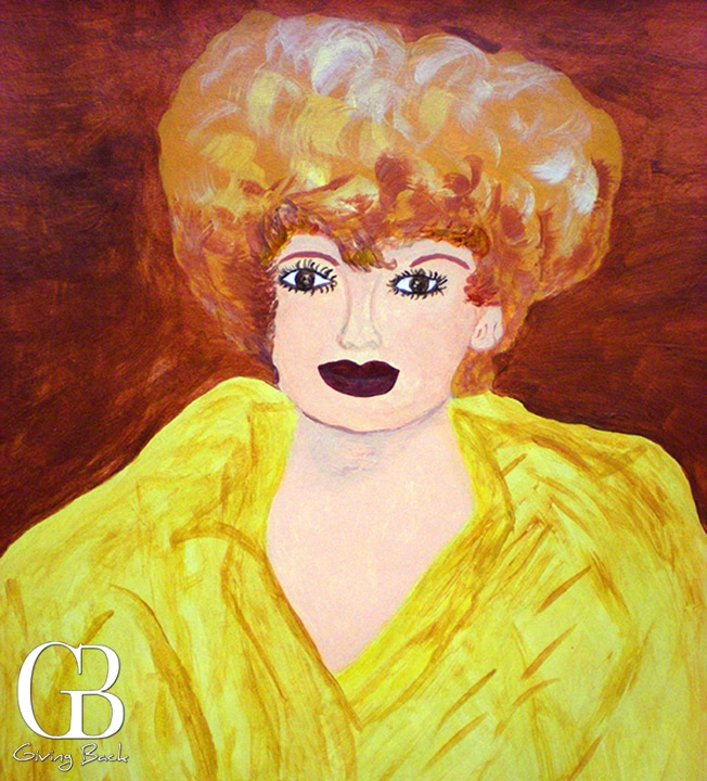 Lucille Ball by John Agostini