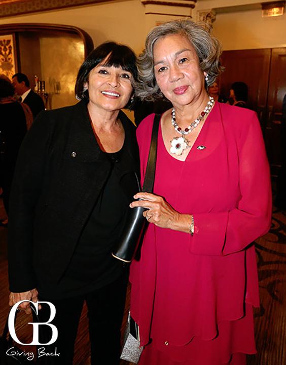 Ludvina Nevarez and Laura Reinert