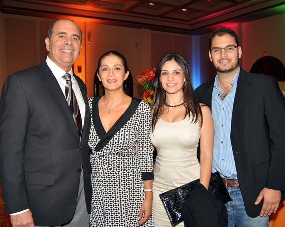 Luis and Laura  Echeverria with Pamela Cappiello and  Diego Gonzalez.JPG