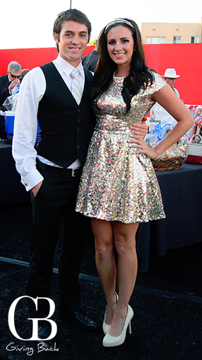 Luis Godinez and Samantha Bonpensiero