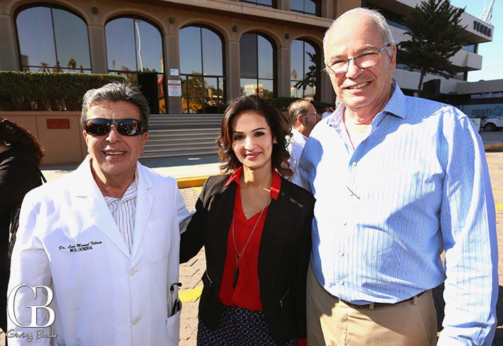 Luis Manuel Tellado  Cristina Echeverria y Armando Garcia