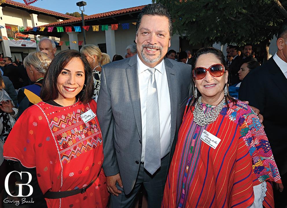 Luisa McCarthy  Rafael Garcia and Patricia Alvarez de los Cobos