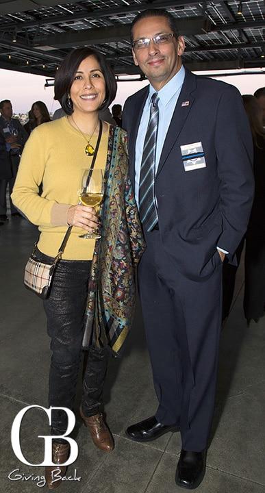 Luisa McCarthy and Victor Gonzalez
