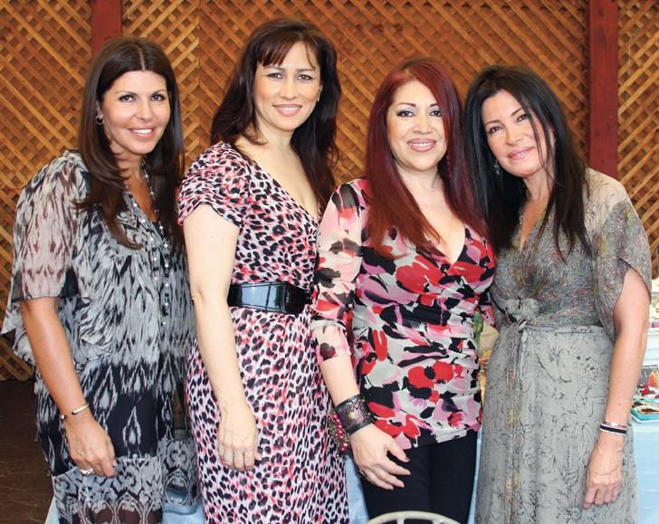 Lupita Carbajal, Angelica Cano, Maricela Mendez y Lola Carbajal