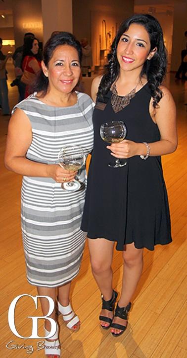 Lupita and Mafer Arce
