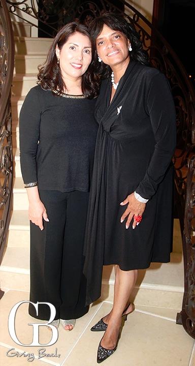 Luz Abbate and Rita Sweeting