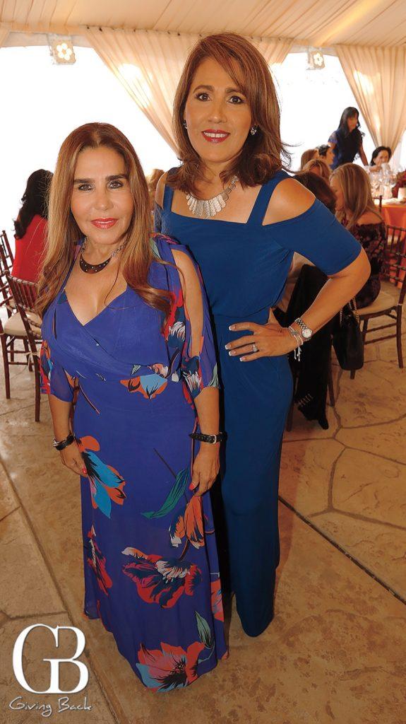 Luz Elena Gomez and Alma Velasquez