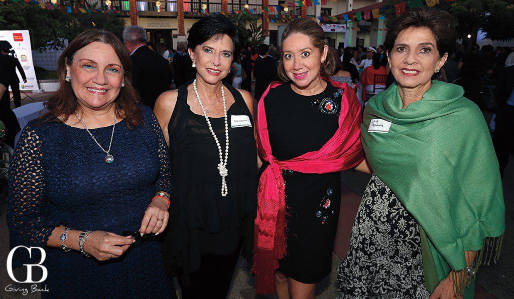 Luz Maria Licona  Tone Beguerisse  Nelly Guevara de Gandara and Ana Maria