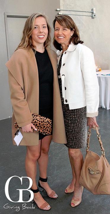 Lynn Gorguze and Ellie Peters