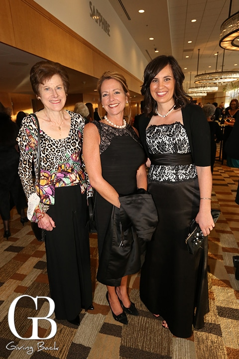 Lynn Reaser  Cathy Gallagher and Alison Grenaway