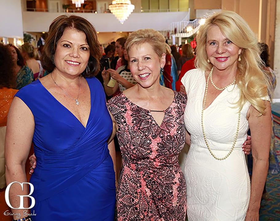Lynne Doyle  Linda Miller and Kathryn Vaughn
