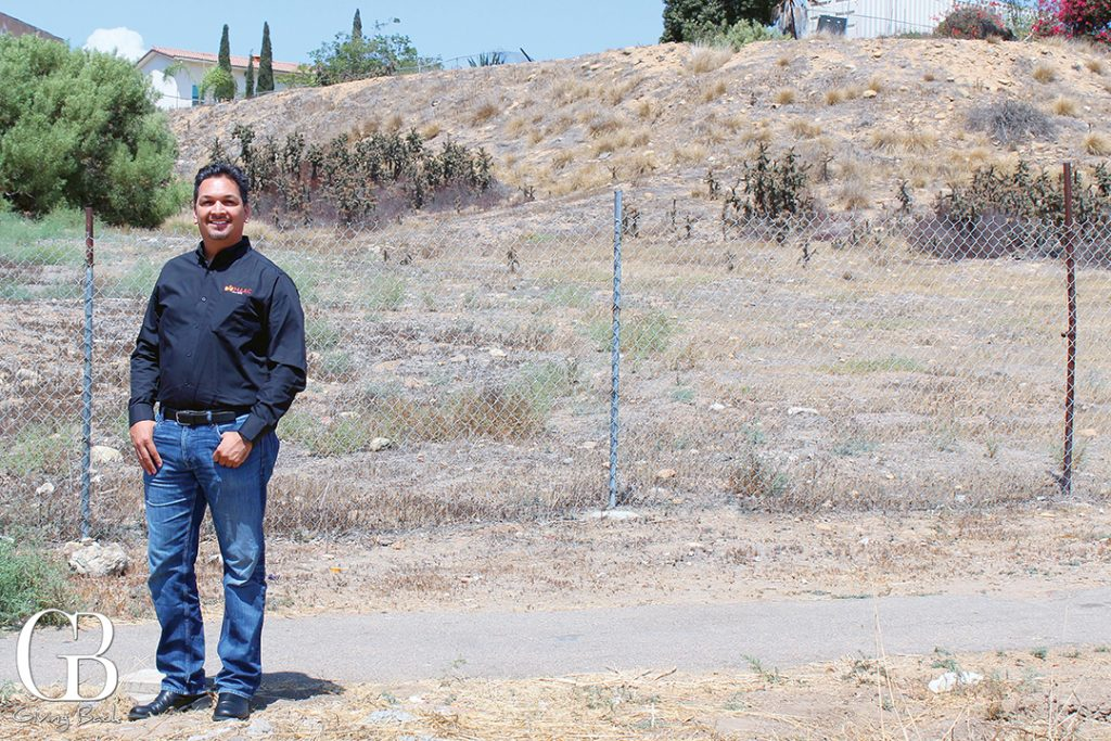 MAAC President   CEO Arnulfo Manriquez stands at the future site of a new MAAC Housing development in San Ysidro