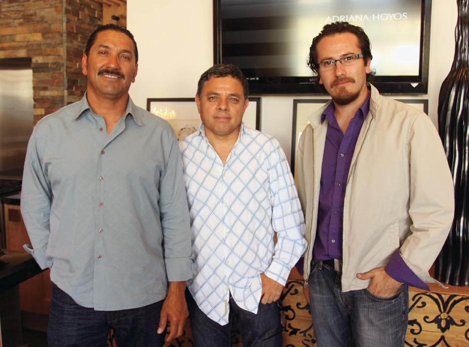 MArio Maldonado, Gilbert Sanchez and Arturo Mirando.JPG