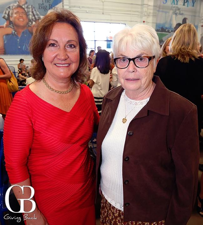 Magda Marquet and Sister Ann Durst