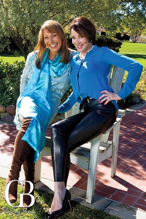 Maggie Bobileff and Denise Hug