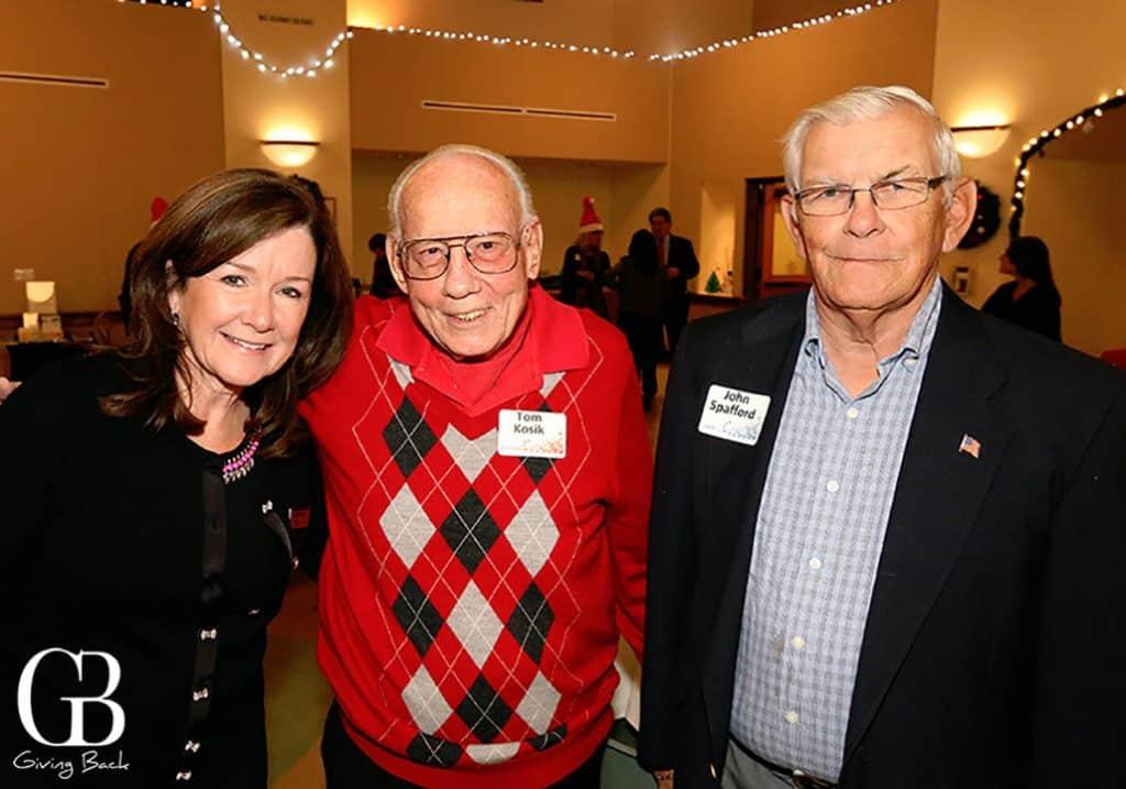 Maggie Bradley  Tom Kosik and John Spafford